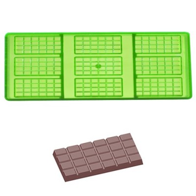 Chocolademal Tabletje - 67x33x5mm